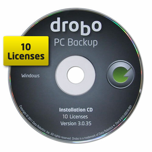 Drobo PC Backup - License - 10 PC