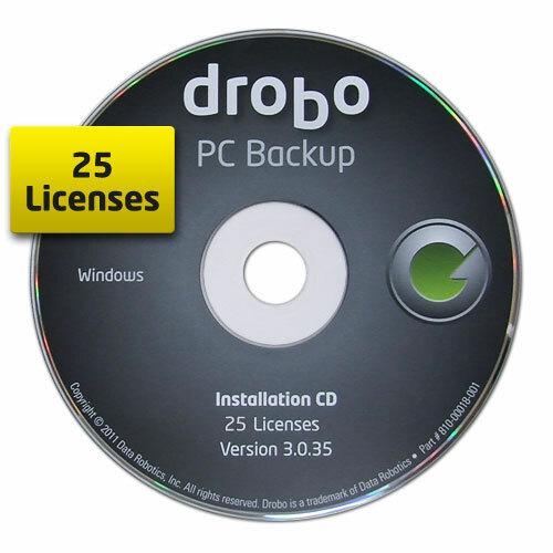 Drobo PC Backup - License - 25 PC