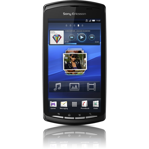 Sony XPERIA PLAY Smartphone - Slider - Black
