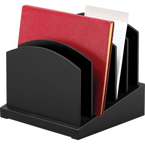 Victor Midnight Black Coll Incline File Sorter | by Plexsupply