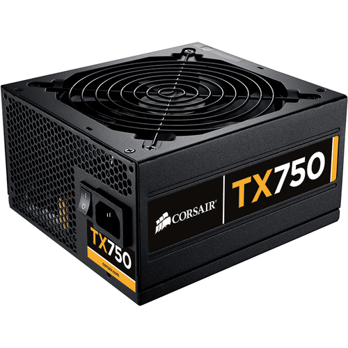 Corsair Memory Enthusiast TX750M ATX12V & EPS12V Power Supply