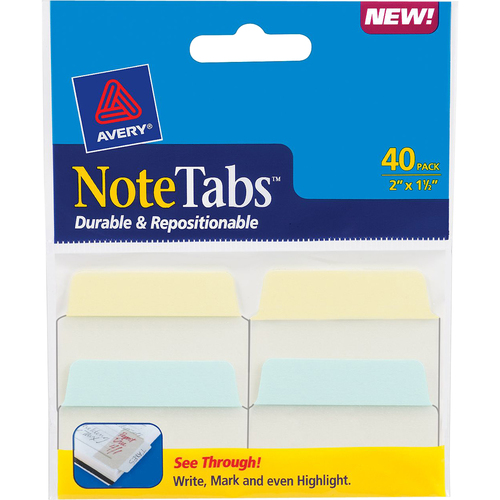 Avery Dennison NoteTabs File Tab