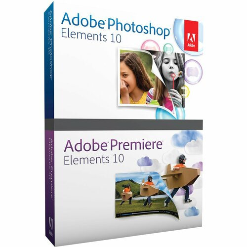 Adobe Photoshop Elements v.10.0 And Adobe Premiere Elements v.10.0 - Complete Product - 1 User