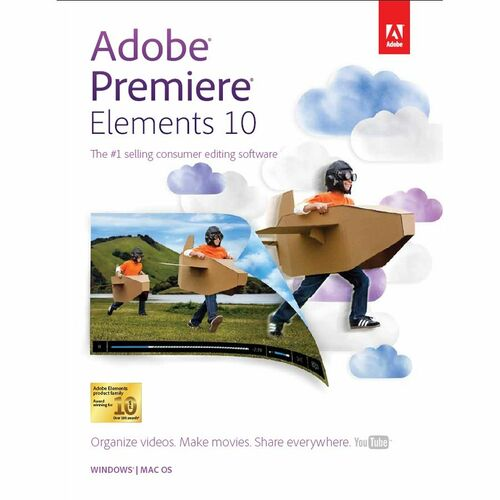 Adobe Premiere Elements v.10.0 - Complete Product - 1 User