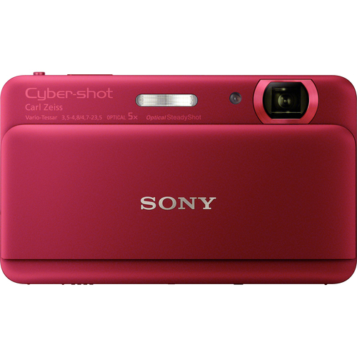 Sony Cyber-shot DSC-TX55 16.2 Megapixel Compact Camera - Red
