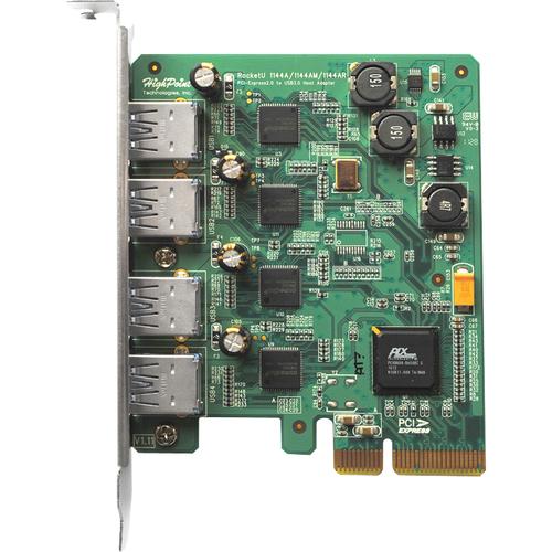 Highpoint Technologies RU1144A 4-port PCI Express USB Adapter
