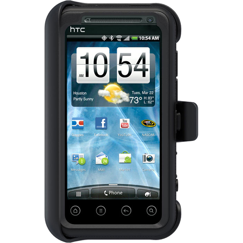 Otterbox Defender HTC2-EVO3D-20-E4 Carrying Case (Holster) for Smartphone - Black