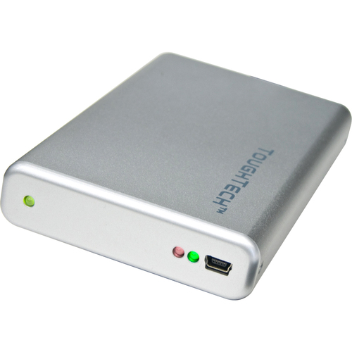 "Cru ToughTech Secure mini-Q 750 GB 2.5"" External Hard Drive"