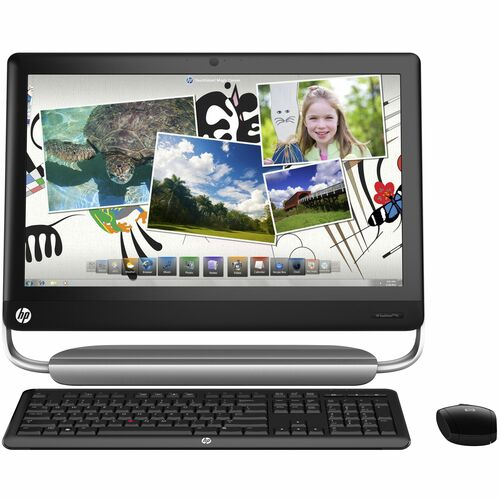 HP TouchSmart 520-1000 520-1030 All-in-One Computer - Intel Core i3 i3-2120 3.30 GHz - Desktop