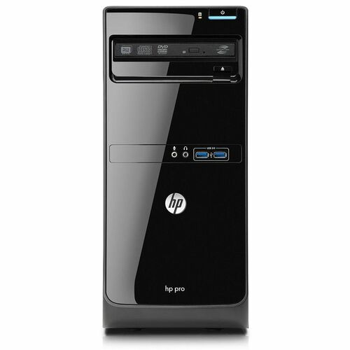 HP Business Desktop Pro 3400 XZ937UT Desktop Computer Pentium G620 2.6GHz - Micro Tower- Smart Buy