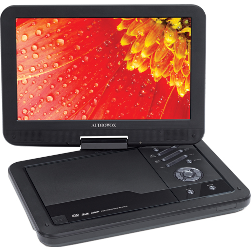"Audiovox DS2058 Portable DVD Player - 10.2"" Display - 800 x 400"