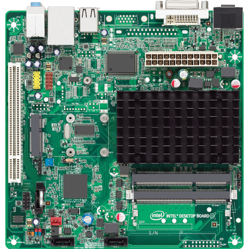 Intel Innovation D2700DC Desktop Motherboard - Intel NM10 Express Chipset - 10 x Bulk Pack
