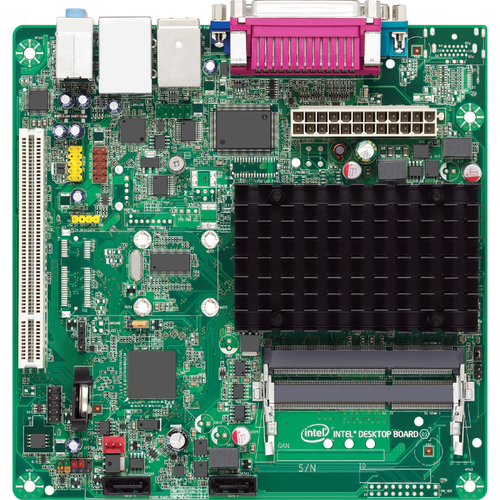 Intel Innovation D2500HN Desktop Motherboard - Intel NM10 Express Chipset - 10 x Bulk Pack