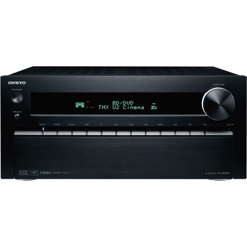 Onkyo TX-NR3009 3D Ready A/V Receiver - 1260 W RMS - 9.2 Channel - Black