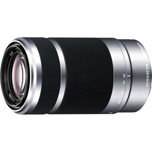 Sony SEL-55210 55 mm - 210 mm f/4.5 - 6.3 Zoom Lens for E-mount