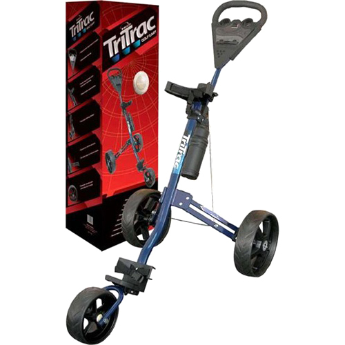 King Par TriTrac Golf Push Cart