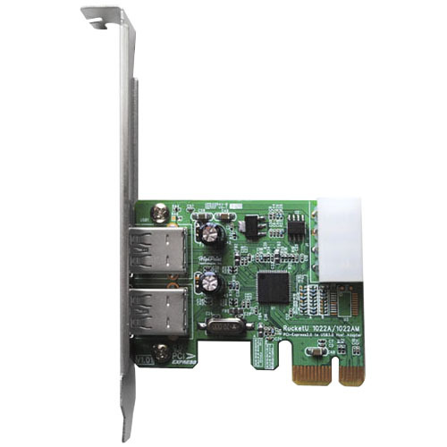 Highpoint Technologies 2-port PCI Express USB Adapter