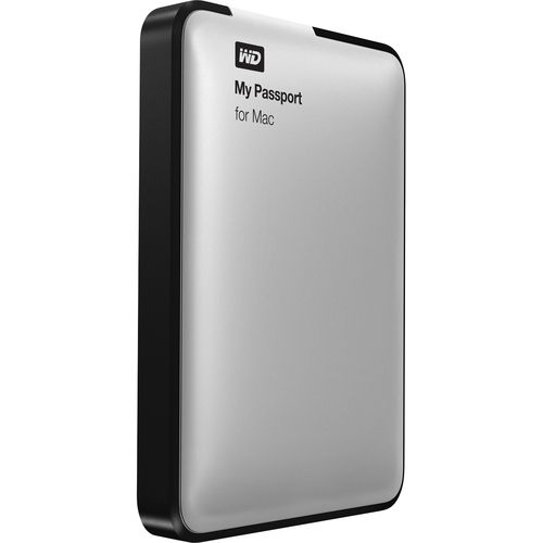 Western Digital My Passport for Mac WDBL1D5000ABK 500 GB External Hard Drive - Black