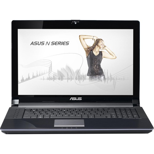 "Asus N73SV-DH72 17.3"" LED Notebook - Intel Core i7 i7-2670QM 2.20 GHz - Silver"