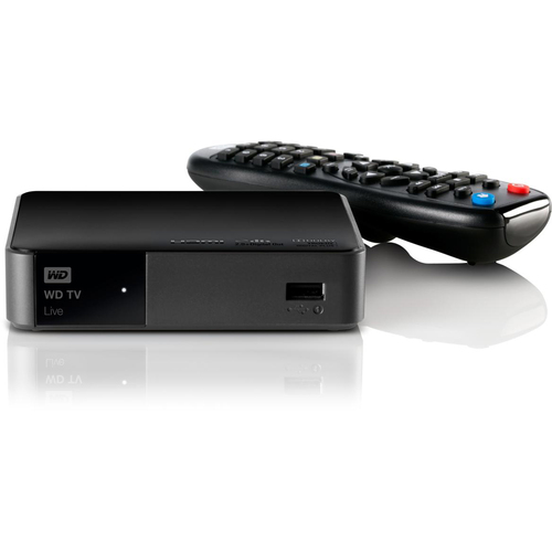 Western Digital TV Live WDBHG70000NBK-HESN Network Audio/Video Player - Wi-Fi