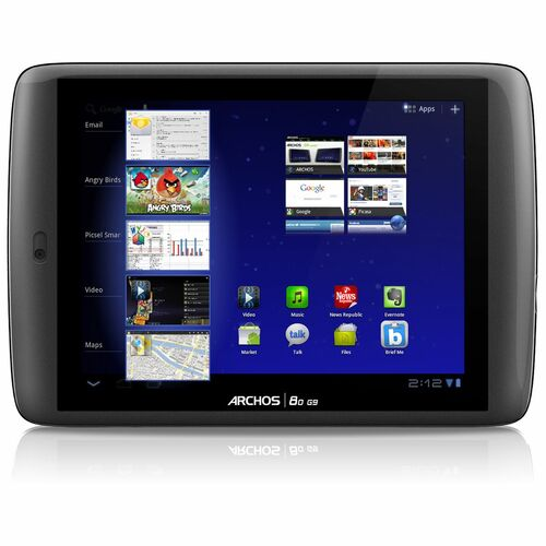 "Archos 80 G9 501895 8"" 16 GB Tablet Computer - Wi-Fi - Texas Instruments OMAP 4 1.20 GHz"