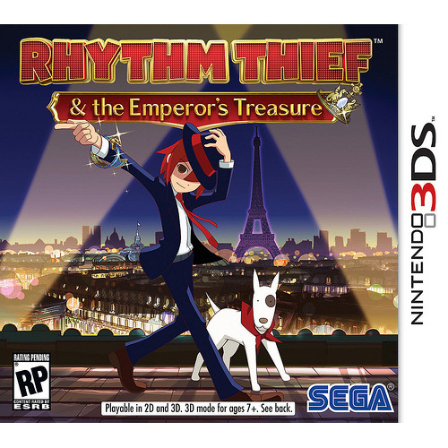 Sega Rhythm Thief & the Emperor's Treasure