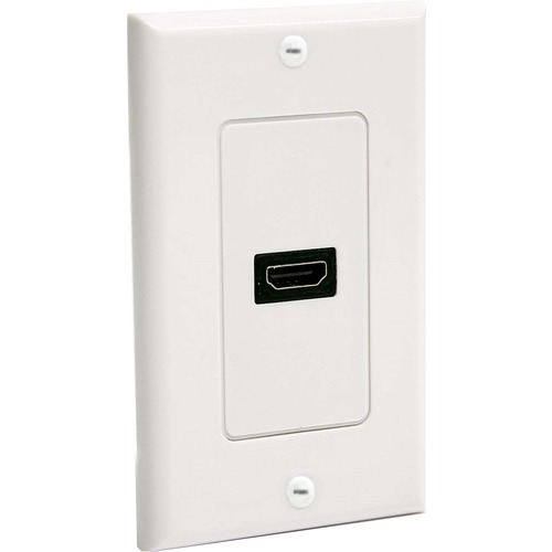 StarTech.com Single Outlet Female HDMI Wall Plate