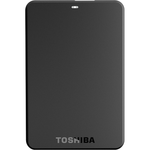 Toshiba Canvio Basics HDTB105XK3AA 500 GB External Hard Drive - Black