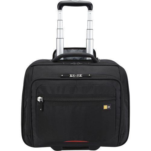 "Case Logic ZLR-116 Carrying Case (Roller) for 15.6"", Travel Essential - Black"