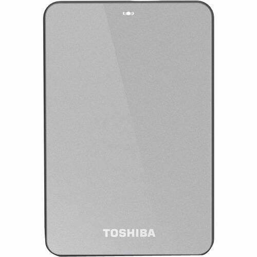 Toshiba Canvio HDTC605XS3A1 500 GB External Hard Drive - Silver