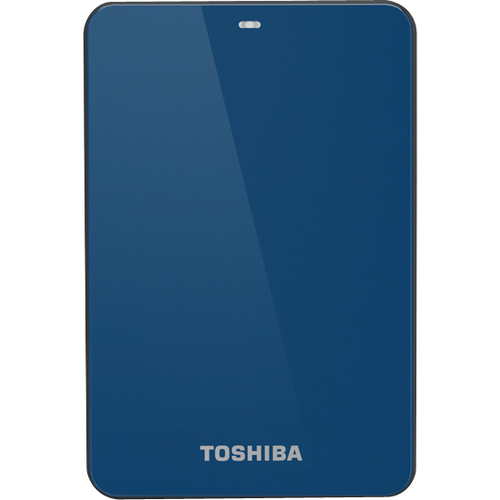 Toshiba Canvio HDTC605XL3A1 500 GB External Hard Drive - Blue