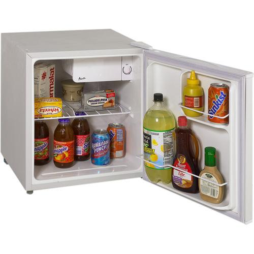 Avanti RM1730W - 1.7 CF Refrigerator - White