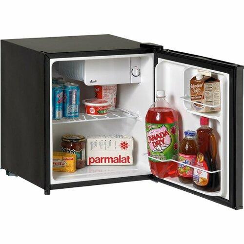 Avanti RM1731B - 1.7 CF Refrigerator - Black