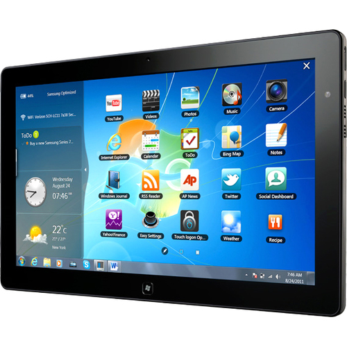 "Samsung XE700T1A 11.6"" LED Tablet PC  Core i5 i5-2467M 1.60GHz 4GB RAM 64Gb SSD Windows 7 Home Premium 64-bit Black"