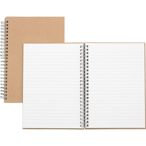 Nature Saver Hardcover Twin Wire Notebook | by Plexsupply