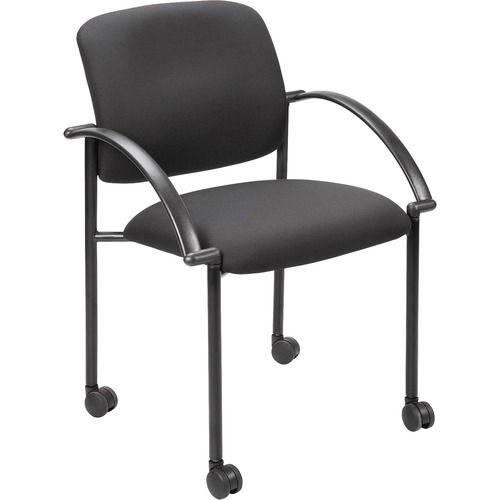 Lorell Stackable Guest Chair w/ Arms | by Plexsupply