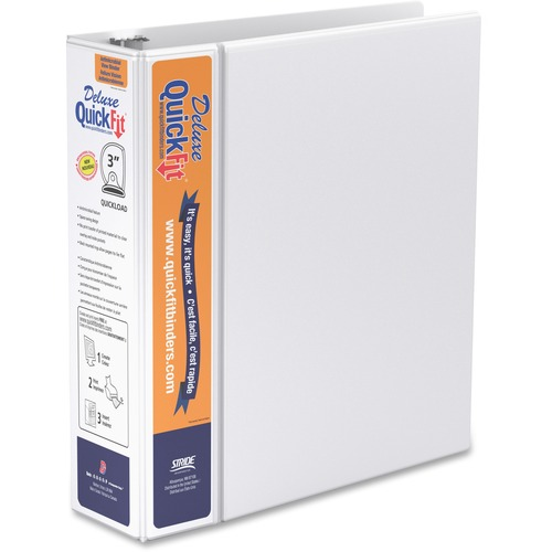Stride QuickFit Deluxe Binder