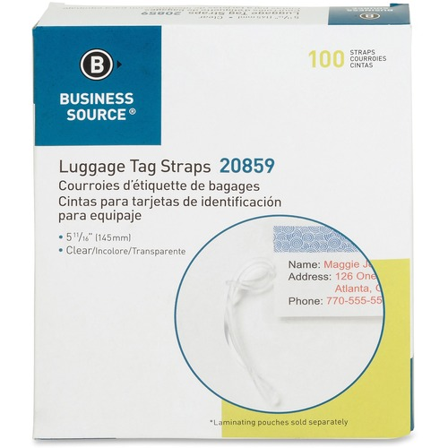 Business Source Luggage Tag Strap