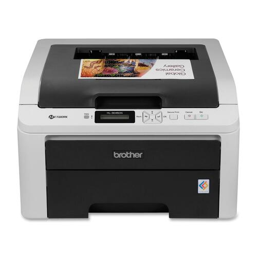 Brother HL-3045CN LED Printer - Color - 2400 x 600 dpi Print - Plain Paper Print - Desktop