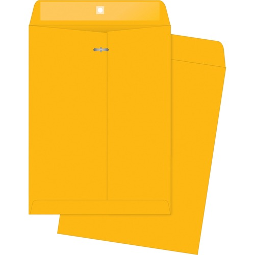 Bus. Source 32 lb Kraft Clasp Envelopes | by Plexsupply