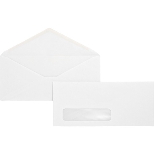 Bus. Source No. 10 Diagonal Seam Window Envelopes | by Plexsupply