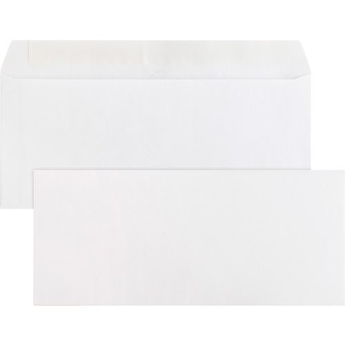 Bus. Source Plain Peel/Seal Business Envelopes | by Plexsupply