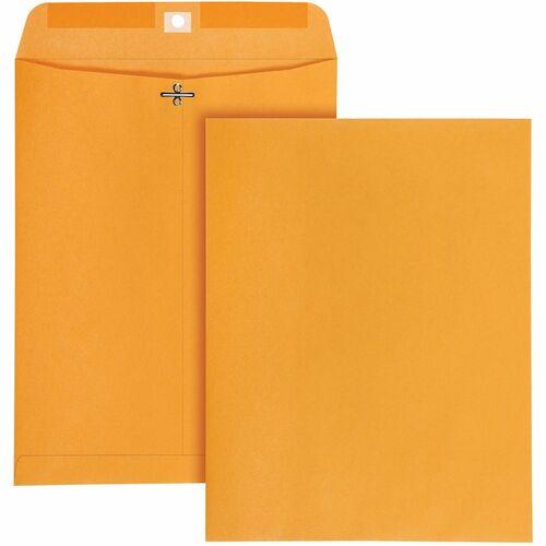 Quality Park High Bulk 10x13 Kraft Clasp Envelopes | by Plexsupply