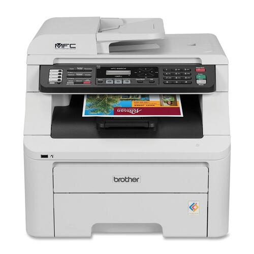 Brother MFC-9325CW Laser Multifunction Printer - Color - Plain Paper Print - Desktop