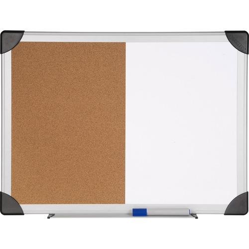 Lorell Dry Erase/Cork Board Combination