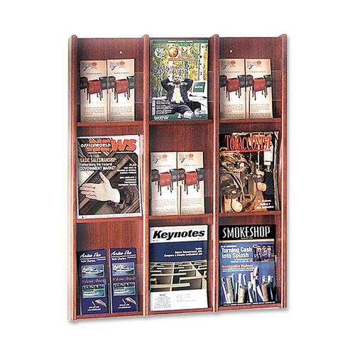 Buddy Products 0643 Literature Rack