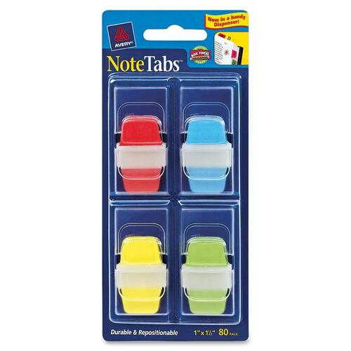 Avery NoteTabs Primary File Tab with Dispenser