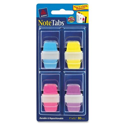 Avery Dennison NoteTabs Neon File Tab with Dispenser