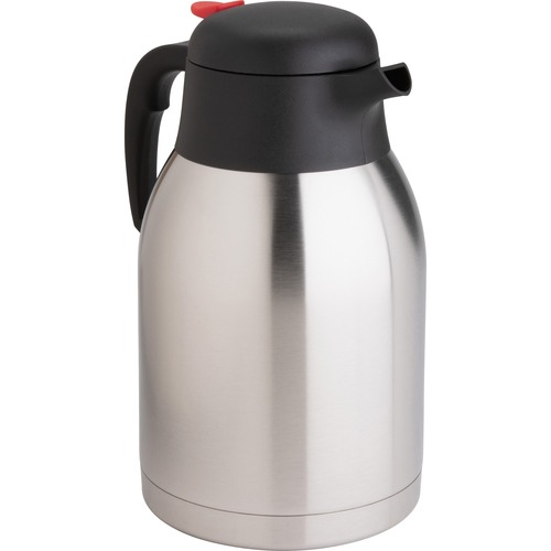 Genuine Joe Double Wall Stainless Steel Carafe | by Plexsupply