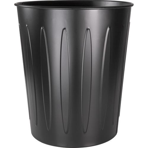 Genuine Joe 6-gallon Steel Fire-safe Trash Can | by Plexsupply